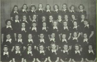 1944 St. Stephen High School Homeroom 104