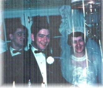 RICHARD STRONG & MARIE BURNS WEDDING