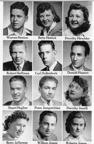 Warren Henton, Fresno Seniors in 1942