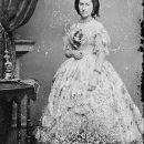 Myra Clark Gaines in Civil War Fashion