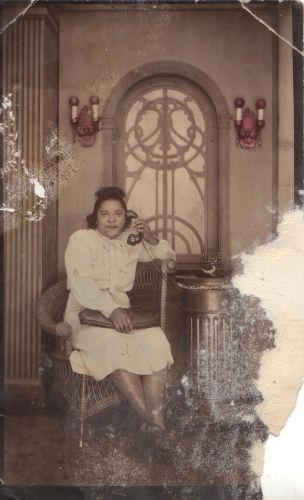 Mason Tennessee Woman on Telephone