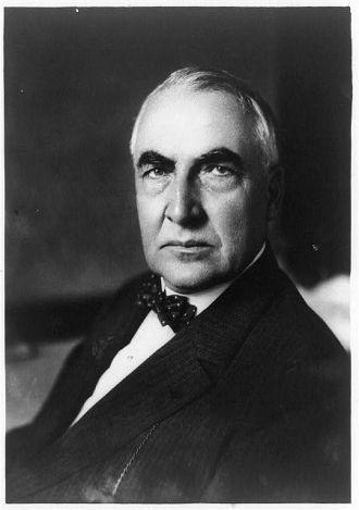 [Warren G. Harding, head-and-shoulders portrait, facing...