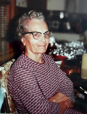 Sadie Agnes Engledow Stone