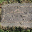 Barbara Ann (Prevatt) Summers Gravesite