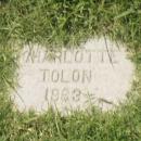 Charolette Moore Tolon Gravesite