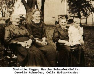 Gretchie Hagge & descendants 1921
