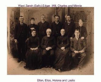 Elias and Helena Shaffer Family