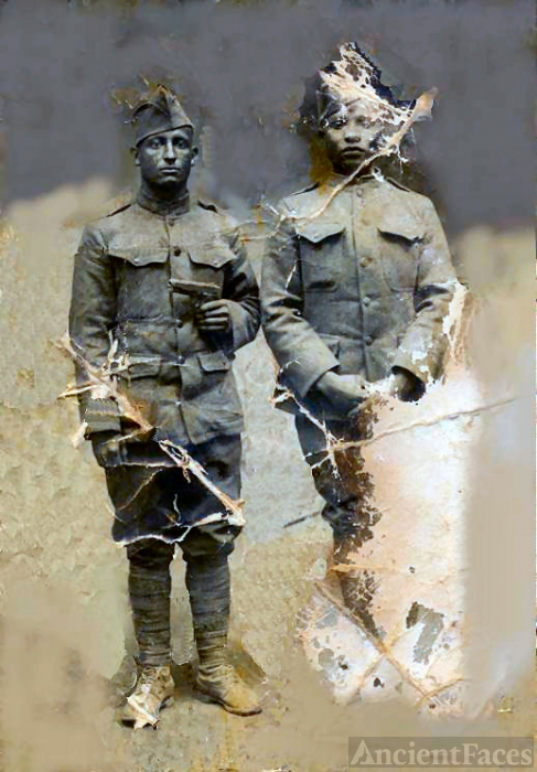 Clyde Bowie World War I Doughboys