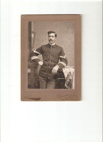 Spanish American war soldier