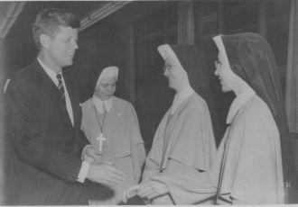John Kennedy, Theresa and Priska Remaklus
