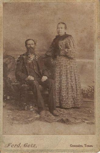 Electa Eliza Cady Carpenter and husband George Carpenter
