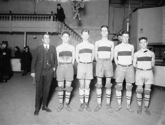 Western basketball team, 1921