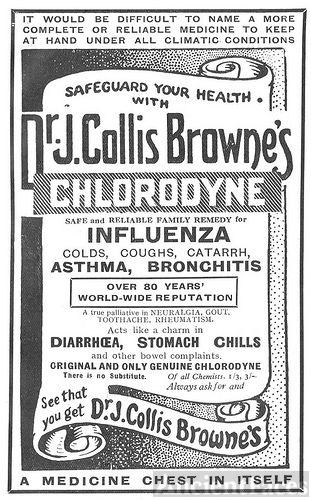 Dr. J. Collis Browne's Medicine