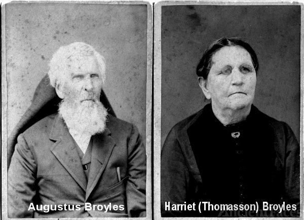 Augustus & Harriet Broyles
