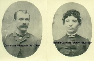 A photo of Mahala Caroline Palmer