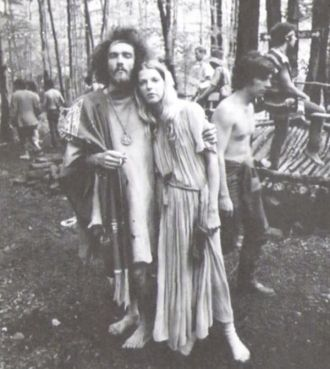 Hippies at Woodstock?