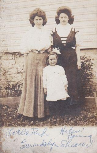 Lottie Ruhl, Hlelen Horning, Gwedolyn Shearer