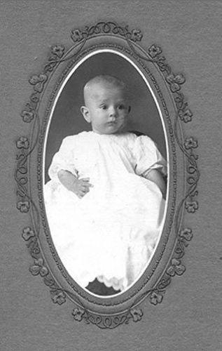Henry Arthur Menzie, 6 mos. old