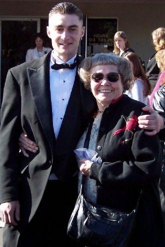 RANDY GUILLIAM AND GRANDMA GLORIA NEWELL