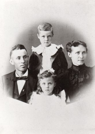 Frank & Georgia Blair family, 1897