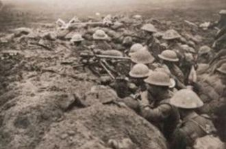 World War 1 front lines