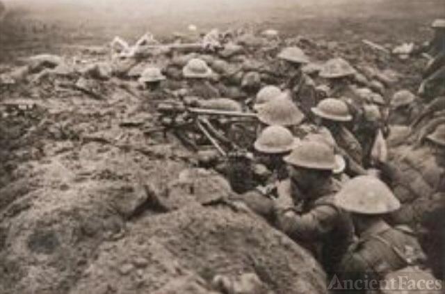 World War 1 front lines