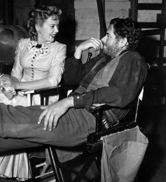 Ida Lupino and Glenn Ford