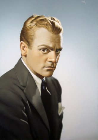 A photo of James Cagney .