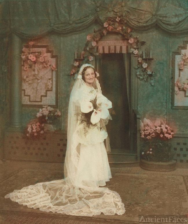 Erma  Galgoczi Szabo; Wedding Day