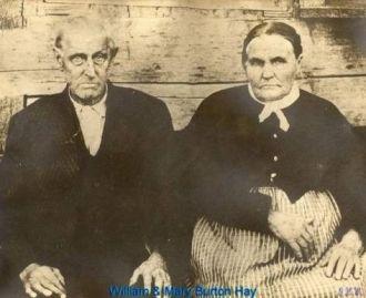 William & Mary Burton Hay