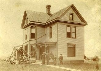 Woodward Family Home 1895
