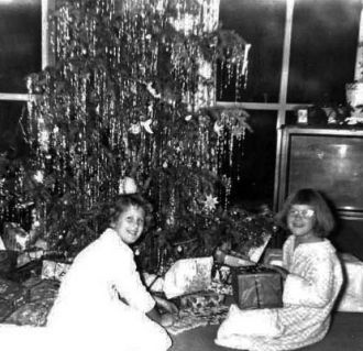 Kroetch Christmas, Cupertino, CA, 1957