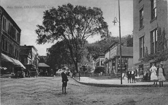 Main Street, Collinsville, Connecticut