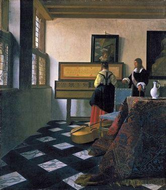 A photo of Johannes Jan Vermeer