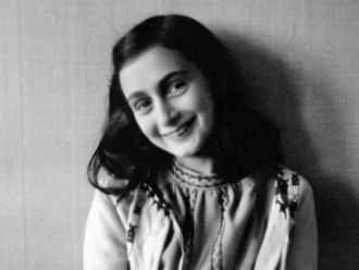 A photo of Anne Frank