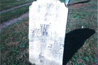 Susannah Oury Gravesite