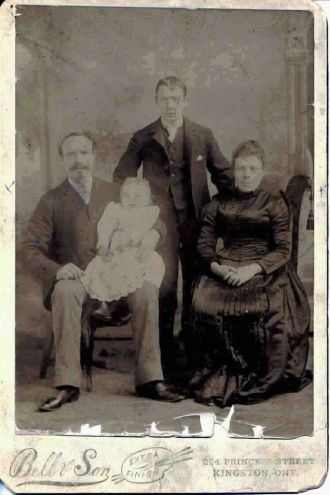 WILLIAM HENRY MADILL (SR), WIFE & SONS