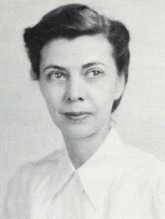 Helen Thompson, Kentucky, 1955