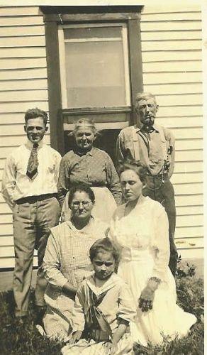 George W. & Priscilla (Sheeks) Carr & Family