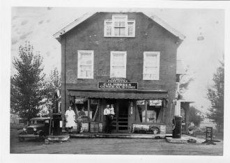 C.H. Hodges store, Newtonville, N.Y. 1930