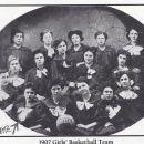 Catherine Fritz 1907 Girl's Basketball Team
