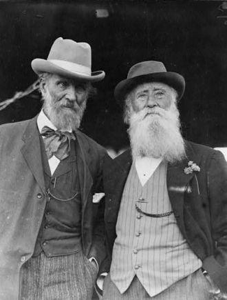 John Burroughs and John Muir