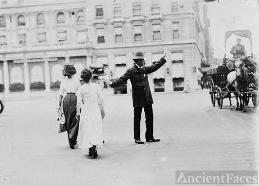 Traffic squad police