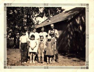 Wayland Fry and Carlos Martinez families