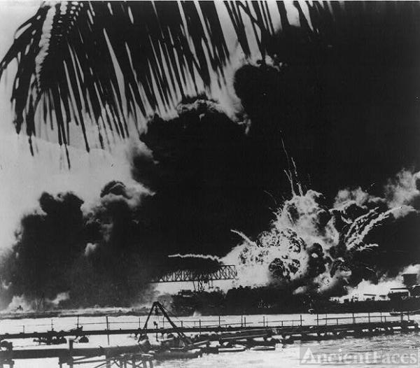 Pearl Harbor naval base, 1941
