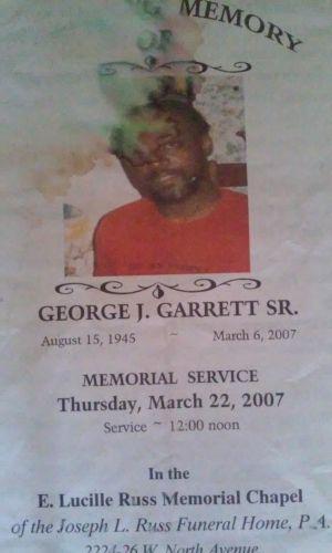 George J Garrett