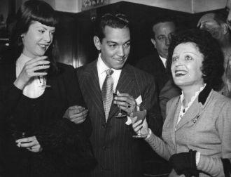 """Cantinflas"" Mario Moreno with PIAF"