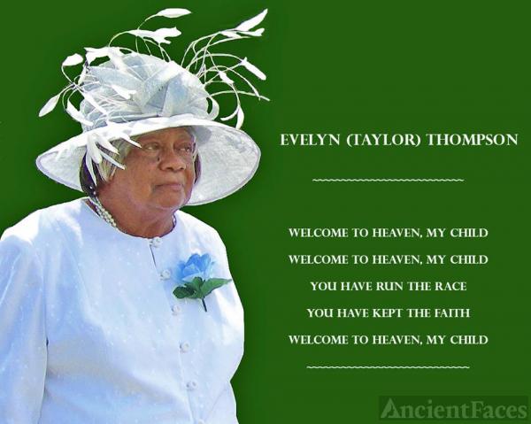 Evelyn Adella (Taylor) Thompson