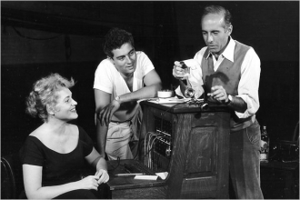 Jerome with Judy and Saul.
