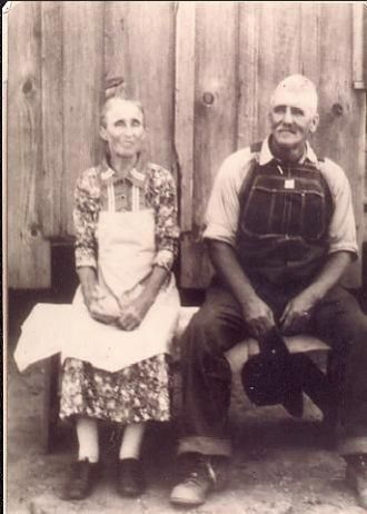 Julina (Ward) and Frederick Calvin Harvey